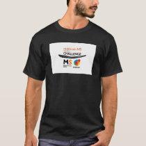 MS goto challenge on a black T T-Shirt