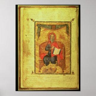 Ms Grec 2144 fol.10v Hippocrates Poster