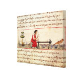 Ms. Grec 479 Traditional ivory work Canvas Print