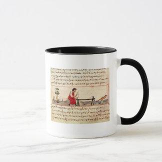 Ms. Grec 479 Traditional ivory work Mug
