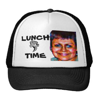 ms green lunch time trucker hat