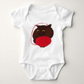 Ms Havana Brown Cat Baby Bodysuit