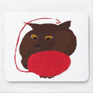 Ms Havana Brown Cat Mouse Pad