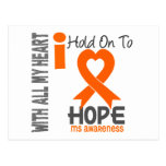 MS I Hold On To Hope Postcard