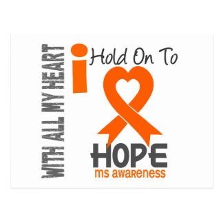 MS I Hold On To Hope Post Cards