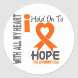 MS I Hold On To Hope Sticker