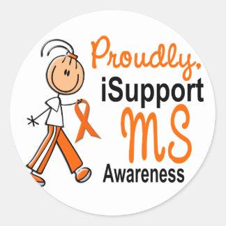 MS iSupport 1 SFT Classic Round Sticker