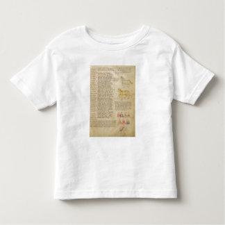 Ms Italien 87 fol.171 Page illustrating astrologic Toddler T-shirt