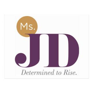 Ms. JD Postcard