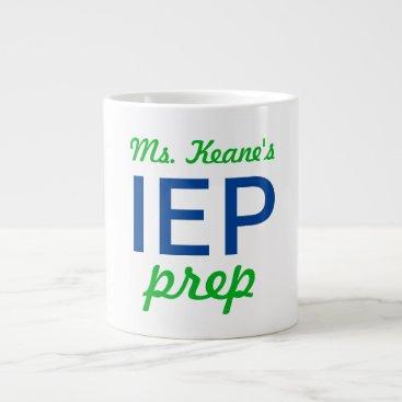 USA Themed ms keane's IEP prep jumbo coffee mug