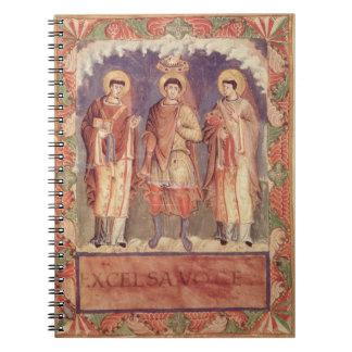 Ms Lat 1141 fol.2v The Coronation of Charles II (8 Notebook