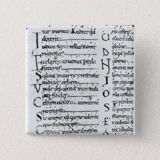 Ms. Latin Lectionary Button