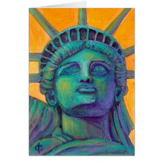 Ms. Liberty Card