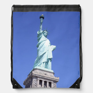 Ms. Liberty, NYC, Drawstring Backpack