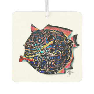 """Ms. Lou Lou"" Fish with Attitude Car Air Freshener"