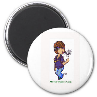 ms macky 2 inch round magnet