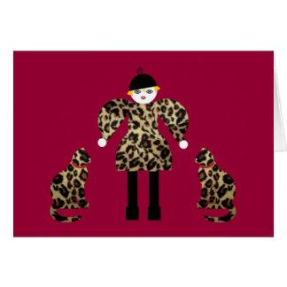 Ms. Martzkin A La Mode Card © 2012 M. Martz