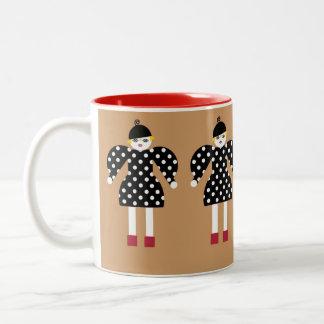 Ms. Martzkin A La Mode Polka Dot Mug