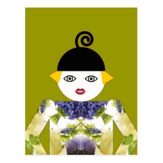 Ms. Martzkin Blooming Postcard © 2012 M. Martz