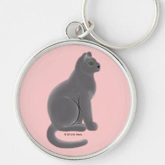 Ms. Martzkin Cat Keychain © 2012 M. Martz