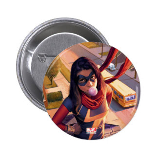 Ms. Marvel Comic #2 Variant Pinback Button