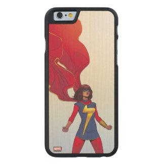 Ms. Marvel Comic #3 Carved Maple iPhone 6 Slim Case