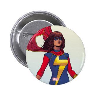 Ms. Marvel Comic #3 Pinback Button