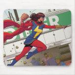 Ms. Marvel Comic #4 Mousepad