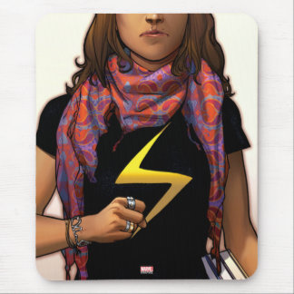 Ms. Marvel Comic Cover #1 Mouse Pad