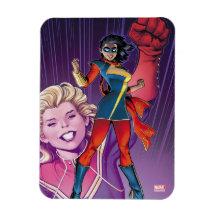 71140MV Collectible Licensed Marvel Miss Marvel Refrigerator Magnet