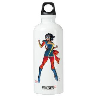 Ms. Marvel Comic Cover #1 Variant Water Bottle