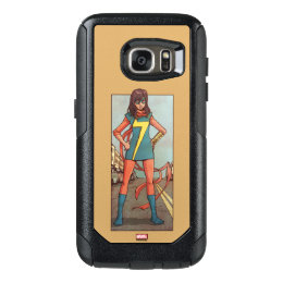 Ms. Marvel Standing In Street OtterBox Samsung Galaxy S7 Case