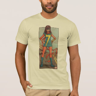 Ms. Marvel Standing In Street T-Shirt