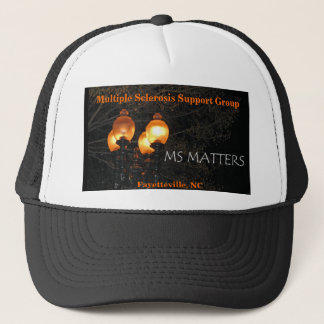 MS Matters Multiple Sclerosis Supp... - Customized Trucker Hat