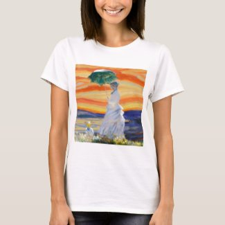 Ms Monet Meets The Screamer T-Shirt