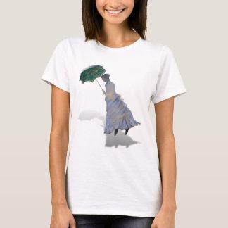 Ms Monet  with Umbrella T-Shirt