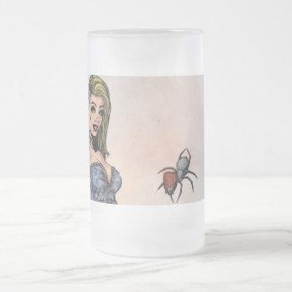 Ms Muffit Frosted Mug Taza De Cristal