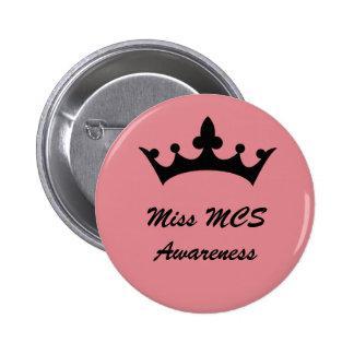 Ms. Multiple Chemical Sensitivity Awareness Button