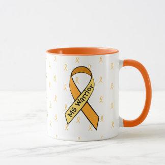 MS Multiple Sclerosis Awareness Ribbon Coffee Mug