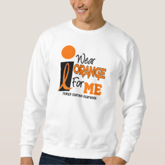 MS Multiple Sclerosis I Wear Orange For ME 9 Sweatshirt