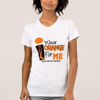 MS Multiple Sclerosis I Wear Orange For ME 9 T-Shirt