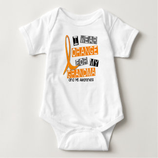 MS Multiple Sclerosis I Wear Orange For My Grandma Infant Creeper
