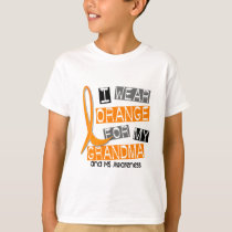 MS Multiple Sclerosis I Wear Orange For My Grandma T-Shirt