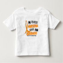 MS Multiple Sclerosis I Wear Orange For My Grandma Toddler T-shirt