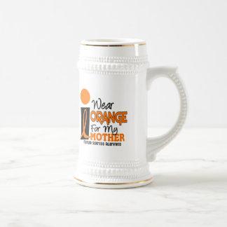 MS Multiple Sclerosis I Wear Orange For My Mother Mugs