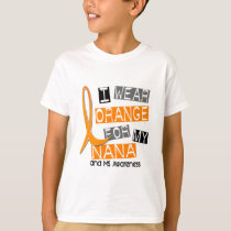 MS Multiple Sclerosis I Wear Orange For My Nana 37 T-Shirt