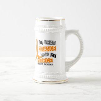 MS Multiple Sclerosis I Wear Orange For My Niece Mugs