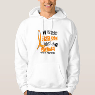 MS Multiple Sclerosis I Wear Orange For My Wife 37 Hoodie