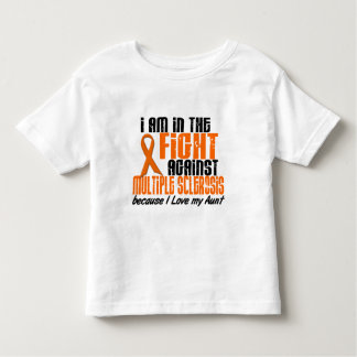 MS Multiple Sclerosis IN THE FIGHT FOR MY AUNT 1 Toddler T-shirt