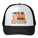 MS Multiple Sclerosis IN THE FIGHT FOR MY WIFE 1 Hat